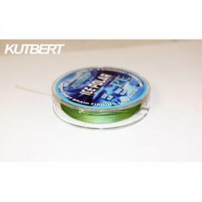 Шнур плетеный зимний KUTBERT, ICE POLAR, 25 м, цвет темно-зеленый, 0,16 мм