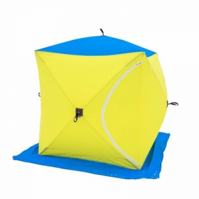 Палатка СТЭК КУБ 1, размер 1,50*1,50 м., высота 1,70 м., вес 5,6 кг.