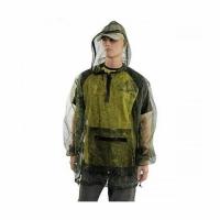 Куртка антимоскитная (сетка), цвет - КМФ, с капюшоном, размер M