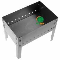 Мангал 500*300*140мм (без шампуров) (0,5мм) в коробке (М-11)