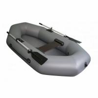 Лодка ТОНАР ПВХ Бриз 220 (1 мест., р-р 220*123 см.) с веслами, с сиденьем, до 180кг., 2 герм. отсека