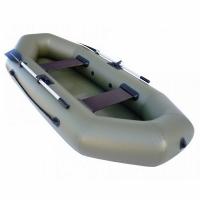 Лодка ТОНАР ПВХ Бриз 260 (2 мест.,р-р 260*123см.) с веслами, с сиденьем,до 210кг., 2 герм. отсека