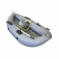 Лодка ТОНАР ПВХ Юнга (1 мест.) размер 200*110см., до 170кг., (трос,весла, уключ., насос)