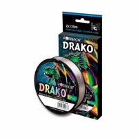 Леска ROBINSON DRAKO-strong, 0,160мм, 125м, цвет серый (55-CD-160) Япония