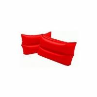 Нарукавники INTEX Красные 25х17см 6-12лет (59642)