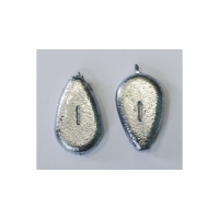 Груз S-FISH Капля плоская, скользящая,  42гр (1 шт)