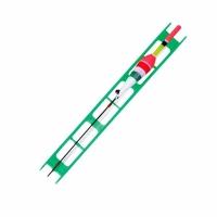 Оснастка LINEA EFFE, готовая: поплавок 1гр, крючок №18,d основ.лески 0,12мм, d поводка 0,1мм.