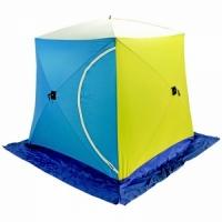 Палатка СТЭК КУБ 2, размер 1,75*1,75 см., высота 1,75 см., вес 6,8 кг.