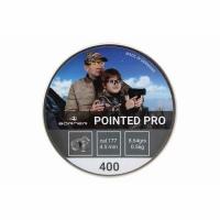 Пуля BORNER Pointed Pro, пневматическая, кал. 4,5мм. (400 шт.), 0,56 гр.