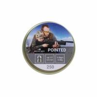 Пуля BORNER Pointed, пневматическая, кал. 4,5мм. (250 шт.), 0,58 гр. (65)