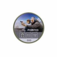 Пуля BORNER Pointed, плевматическая, кал. 4,5мм. (500 шт.), 0,58 гр. (30)