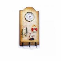 Сувенир часы-вешалка РЫБКА (A-012), настенные, 23*11.5 см.,