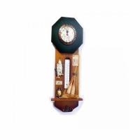Сувенир ЧАСЫ GONE FISHING, с термометром и вешалкой (А-5551), настенные, размер 41*16см.