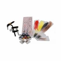Набор для вязания нахлыстовых приманок LINEA EFFE, ножницы, щипцы, захват, нитки, перья