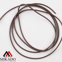 Балластная трубка Mikado 0.8 x 2.20 мм. 1м. (коричневый)