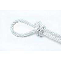Веревка крученая EXTRA PA, 20 м, 3,1 мм, тест 240 кгс, белая, еврокарточка