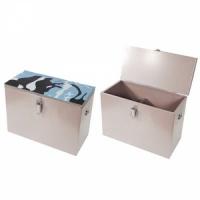 Ящик зимний РОСТ рыбацкий 40x19x29, 22л, одноярусный, окрашенная сталь 0,5мм, арт. 6-01-0110