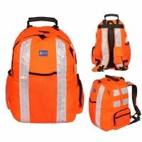 Рюкзак BODYGYARD WORKWEAR,отраж. ленты, 30л, В35*Ш30*Г25,цв. оранж. (BOREN-20)