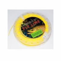 Шнур нахлыстовый ROBINSON Premium WF6F, флюо-желтый, 30м., плав., 58-A3-WF6-F