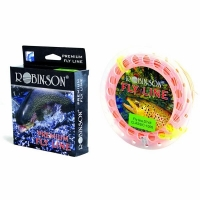 Шнур нахлыстовый ROBINSON Premium DT4F, лососевый, 30м., плав., 58-A2-DT4-F