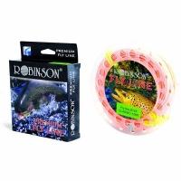 Шнур нахлыстовый ROBINSON Premium DT5F, лососевый, 30м., плав., 58-A2-DT5-F