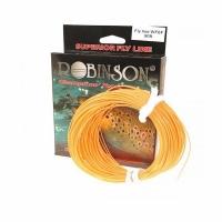 Шнур нахлыстовый ROBINSON Fluo-оранжевый DT3F, плавающий, 27м., Польша 58-A1-DF3
