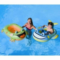 Плотик BESTWAY 39x26 Pool Float, детский надувной, размер 99х66см, от 3-5 лет 34085B (36)