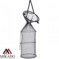 Садок рыболовный Mikado SADZ с металличесими обручами 40/35 см x 100 см