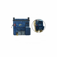 Органайзер ROBINSON функциональный, для приманок, линейка, цв. синий, Польша 73-BM1