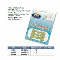 Держатель для светлячков LINEA EFFE, разм.4,5*2,6-3,0, S для удилищ, (3 шт/пак)