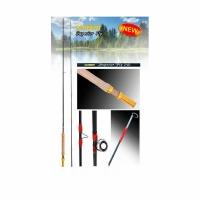 Удилище нахлыстовое KUTBERT Superior fly 255, 2,55м, Action 6/7, Carbon IM7, 2 секции
