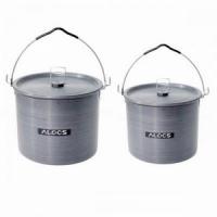 Набор котелков, 2 шт/набор, 6л, 10л, с крышками, в сумке, анодированный алюмин., CW-RT04, 4