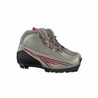 Ботинки лыжные MXN300 ACTIV креплен NNN,иск. кожа, цвет сер, размер 45