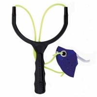 Рогатка LINEA EFFE для заброса прикормки, круглая, эластичная, внутренняя, цв. черн/синий (8350051)Италия