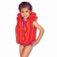 Жилет INTEX надувной, детский, оранжевый, 3-6 лет 50 х 47 см. 58671 (24) с надувным подголовником