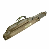 Чехол для удилищ AQUATIC, длина 120см, 1 отделение, под катушки, мягкий с уплотнителем (Ч-01)