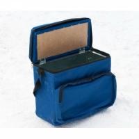 Ящик зимний СТЭК оцинкованный, В33*Ш39*Г18, 23л, в сумке