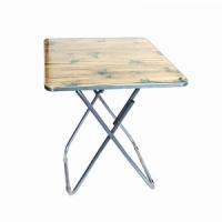 Стол WOOD, квадратный, Ш60*В70*Г60см., раск., алюмин., ламинат МДФ, цв. в асс (2)