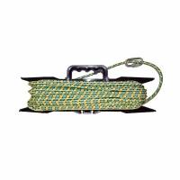 Якорная намотка  8мм.*20м. плетеная, нагр. 700кг. карабин, мотовило (12)