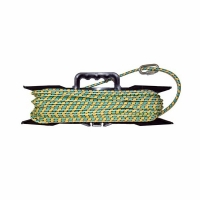 Якорная намотка  8мм.*50м., плетеная, нагр. 700кг., карабин, мотовило (8)