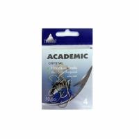 Крючки ACADEMIC Cristal №4, серия U005, carbon, цв. золото (10шт/пак)
