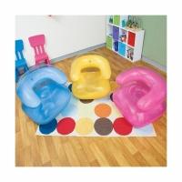 Кресло INTEX флокированное (91х102х65 см.) (68563)