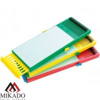 Мотовильце для поводков Mikado раздвижное с пружинками (21-34 х 8см, пеноплен) ZO10-01