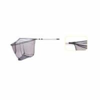 Подсачек LINEA EFFE телескоп. треуг., рукоятка 300см, 100*100см, 3 секции, складной, алюм.