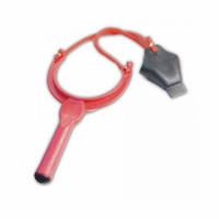 Рогатка для заброса наживки ,большая, длина 19 см., ширина 11,5 см., пластик