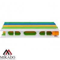 Набор мотовилец для поводков Mikado (10шт., 30 х 3,3см, 5 цветов) ZO03-30