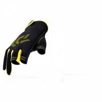 Перчатки JI, рыболовные, неопреновые, ладонь Anti-slip, цв. желт.-черный