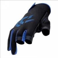 Перчатки JI, рыболовные, неопреновые, ладонь Anti-slip, цв. син.-черный