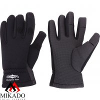 Перчатки рыболовные неопреновые Mikado UMR-00 размер L