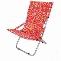 Кресло-шезлонг, В100*Ш60*Г40, складное, без подлокотников, съемный чехол, цв. красн. JJYZ-057 (5)